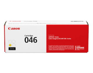 Canon 046 Toner Cartridge Yellow