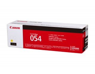 Canon 054 Toner Cartridge Yellow