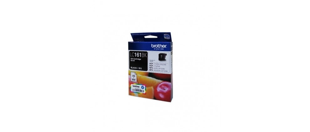 Brother LC161BK Ink cartridge, Black