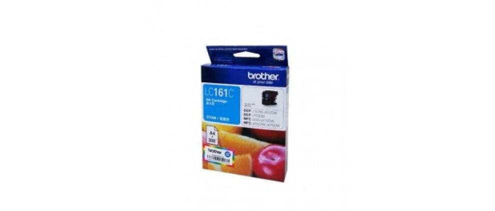 Brother LC161C Ink cartridge, Cyan