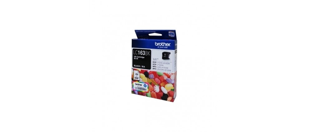 Brother LC163 BK Ink cartridge, Black