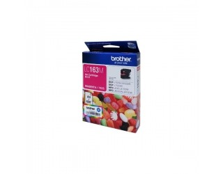 Brother LC163 M Ink cartridge, Magenta