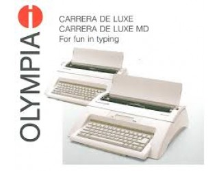 "Olympia Carrera de Luxe MD (13"") with Display Electronic Typewriter"