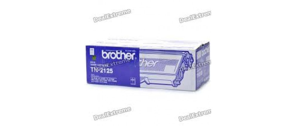 Brother TN 2125 Toner cartridge, Black