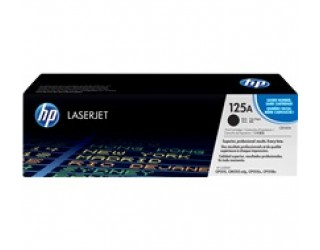 HP 125A Black LaserJet Toner Cartridge (CB540A) (2.2K)