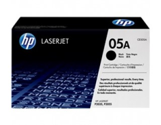 HP 05A Black Original LaserJet Toner Cartridge (CE505A) (2.3K)